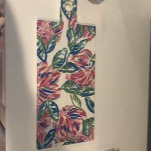 Lilly pulitzer totally blossom serving board nwt